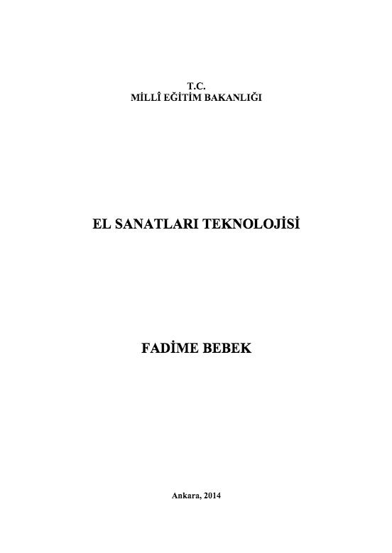 Fadime Bebekleri ders notu pdf