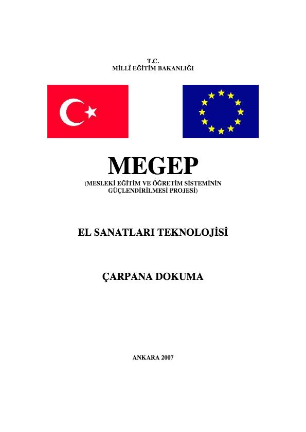 Çarpana Dokuma ders notu pdf
