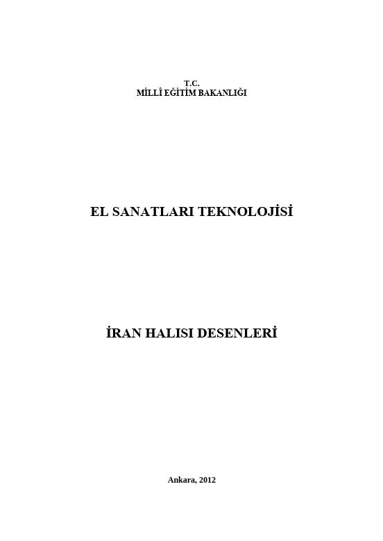 İran Halısı Desenleri
