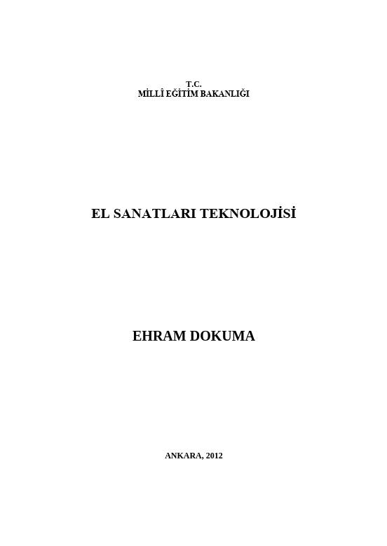 Ehram Dokuma
