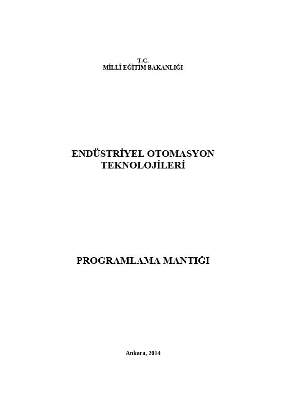 Programlama Mantığı