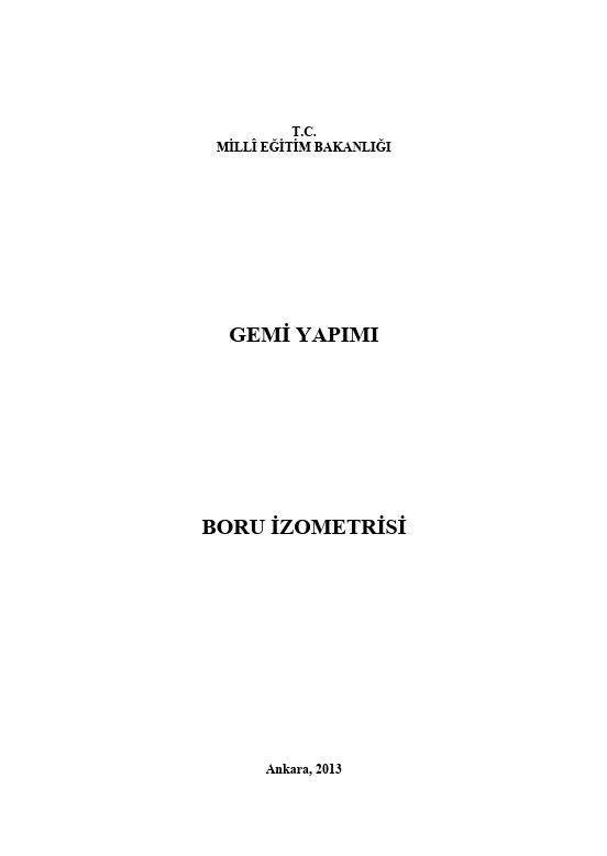 Boru İzometrisi ders notu pdf