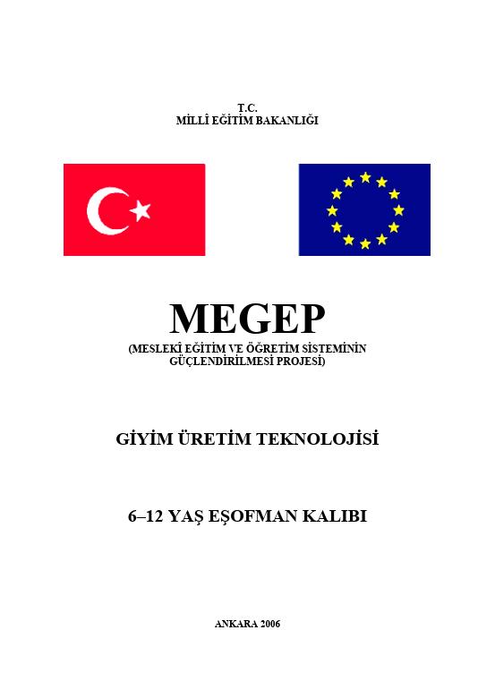6-12 Yaş Eşofman Kalıbı ders notu pdf