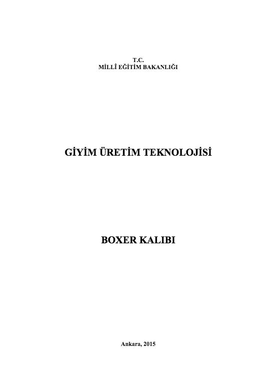 Boxer Kalıbı ders notu pdf