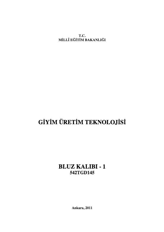 Bluz Kalıbı- 1