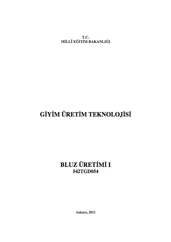 Bluz Üretimi- 1 ders notu pdf