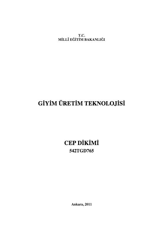 Cep Dikimi ders notu pdf