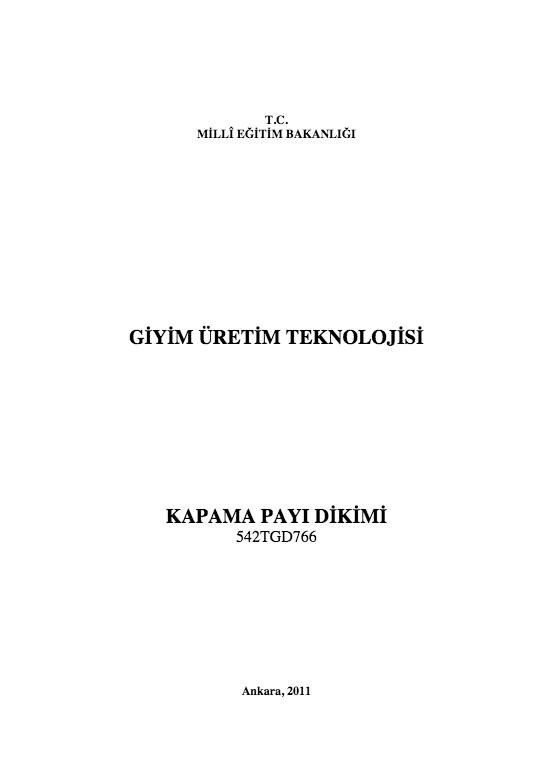 Kapama Payı Dikimi ders notu pdf