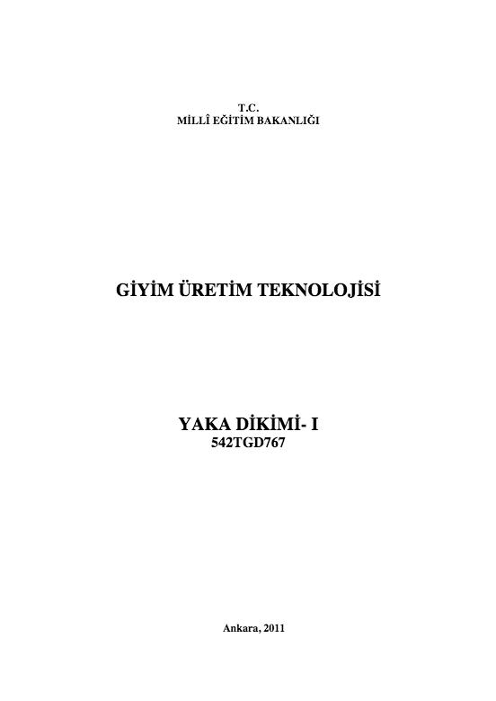 Yaka Dikimi-1 ders notu pdf