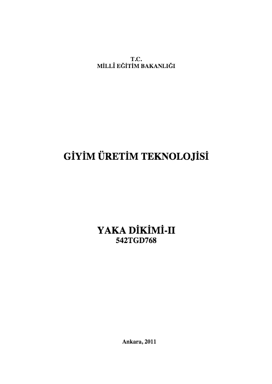 Yaka Dikimi-2 ders notu pdf
