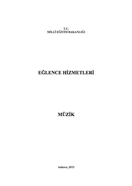 Müzik ders notu pdf