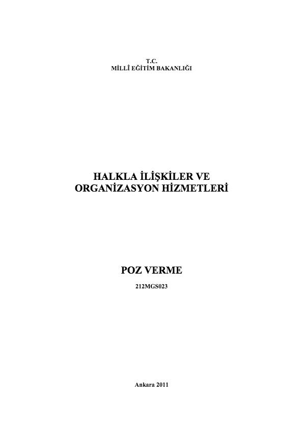 Poz Verme ders notu pdf