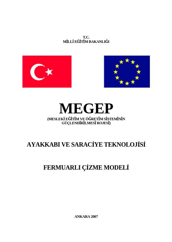 Fermuarlı Çizme Modeli ders notu pdf