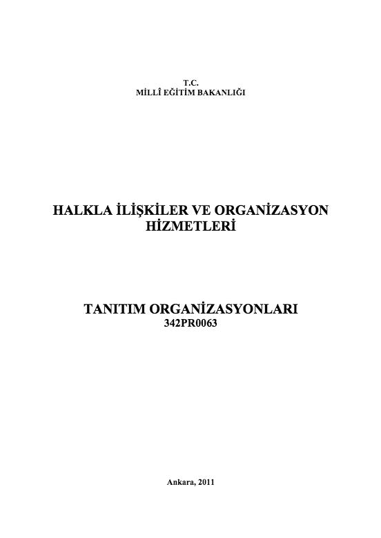 Tanıtım Organizasyonları