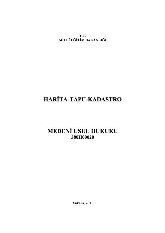 Medeni Usul Hukuku ders notu pdf