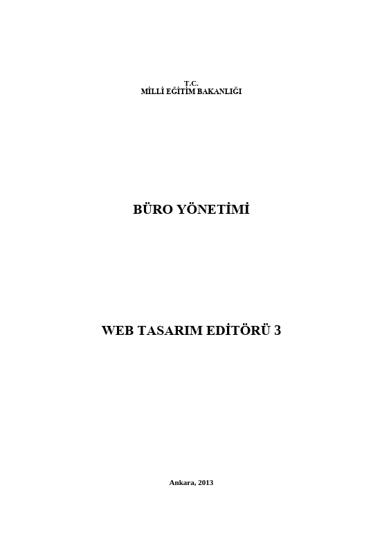 Web Tasarımı Editörü-3