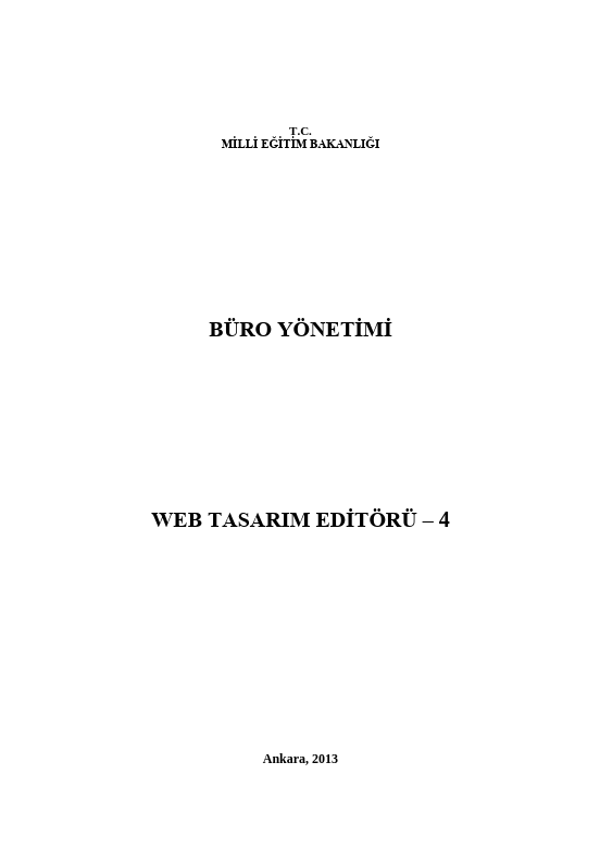 Web Tasarımı Editörü-4