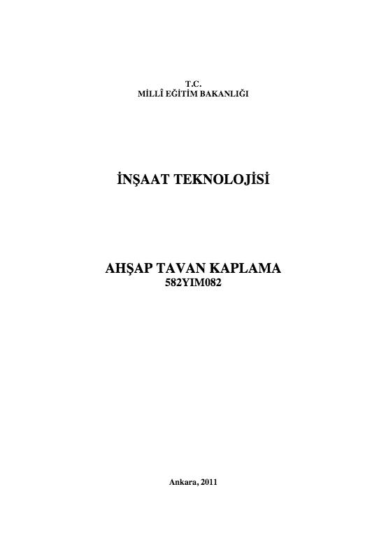 Ahşap Tavan Kaplama