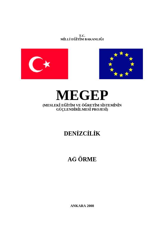 Ağ Örme ders notu pdf