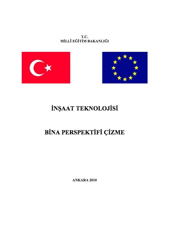 Bina Perspektifi Çizme ders notu pdf