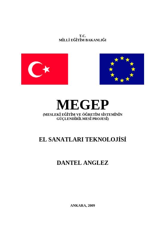 İngiliz Danteli (dantel Anglez) ders notu pdf