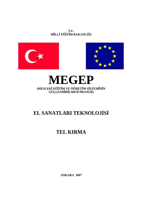 Tel Kırma ders notu pdf