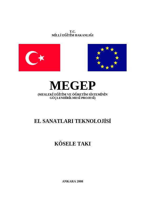 Kösele Takı ders notu pdf