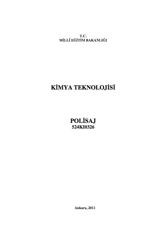 Polisaj ders notu pdf