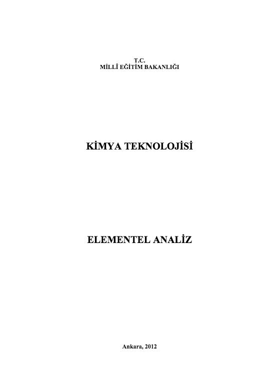 Elementel Analiz ders notu pdf