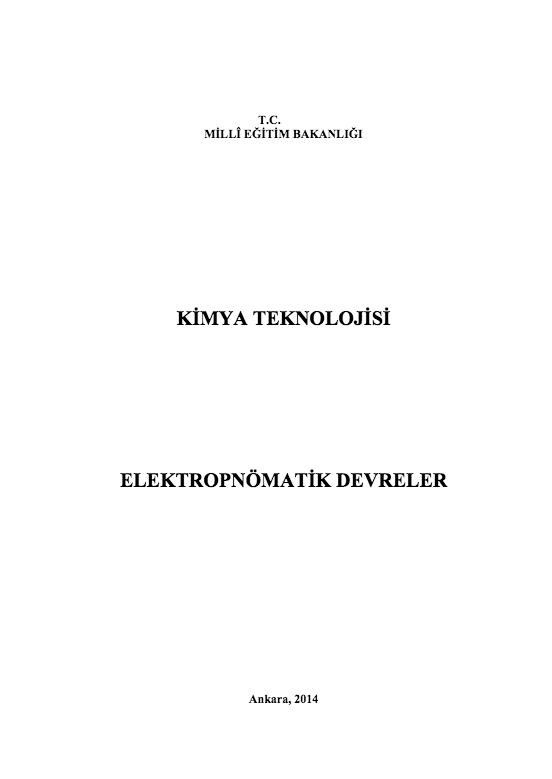Elektropnomatik Devreler