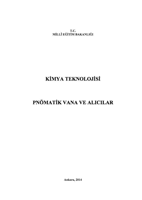 Pnomatik Vana Ve Alıcılar