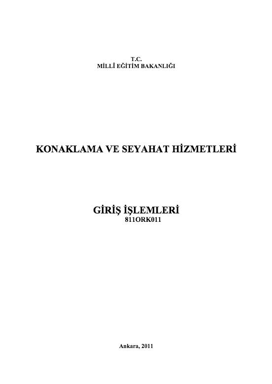 Giriş İşlemleri ders notu pdf