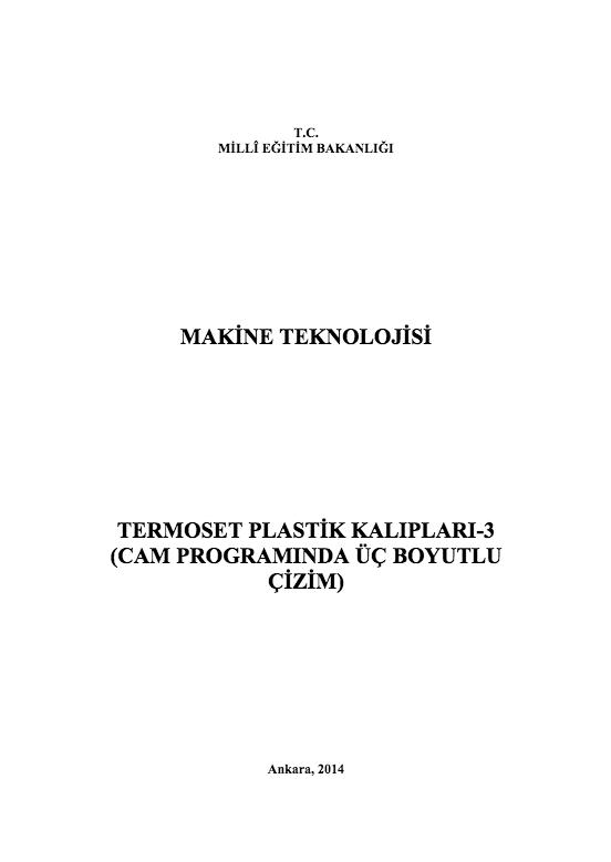 Termoset Plastik Kalıpları 3