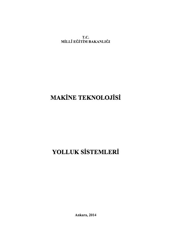 Yolluk Ve Besleyici Sistemleri ders notu pdf
