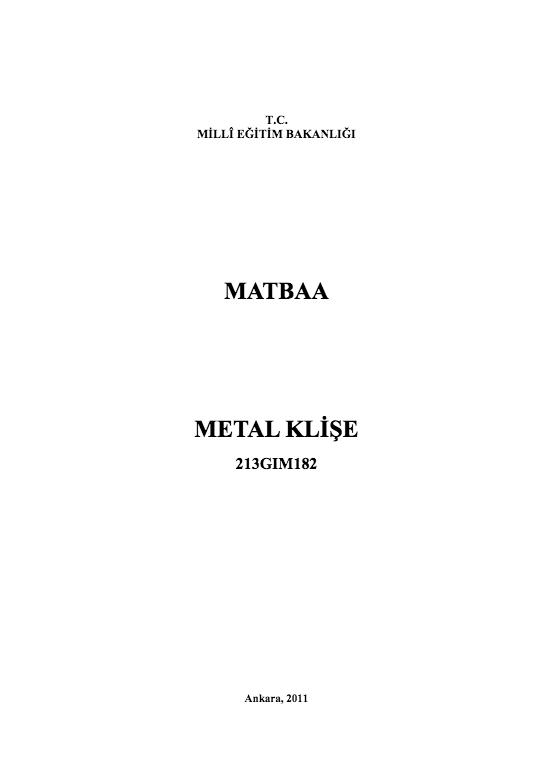 Metal Klişe