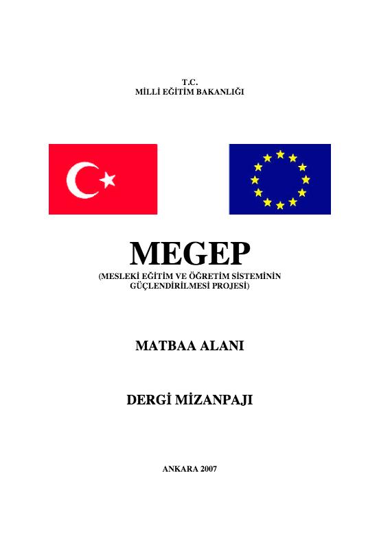 Dergi Mizanpajı ders notu pdf