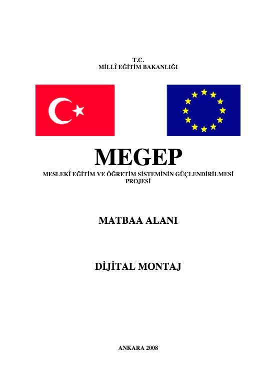 Dijital Montaj ders notu pdf