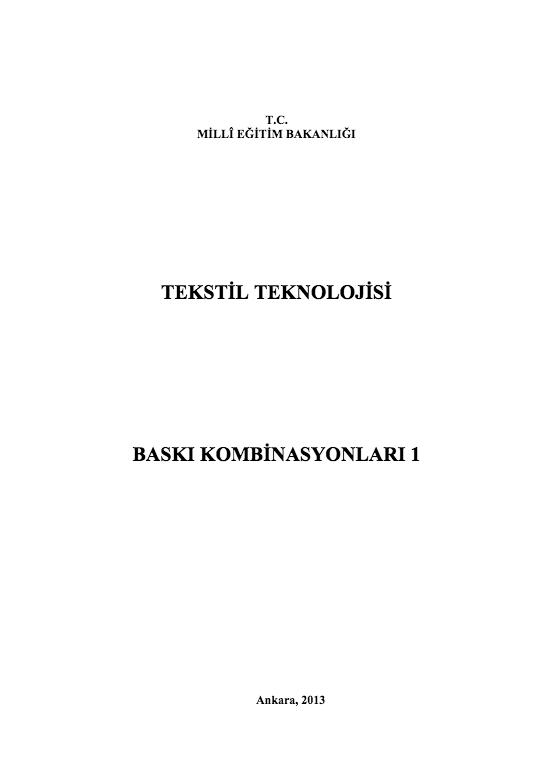 Baskı Kombinasyonları 1 ders notu pdf