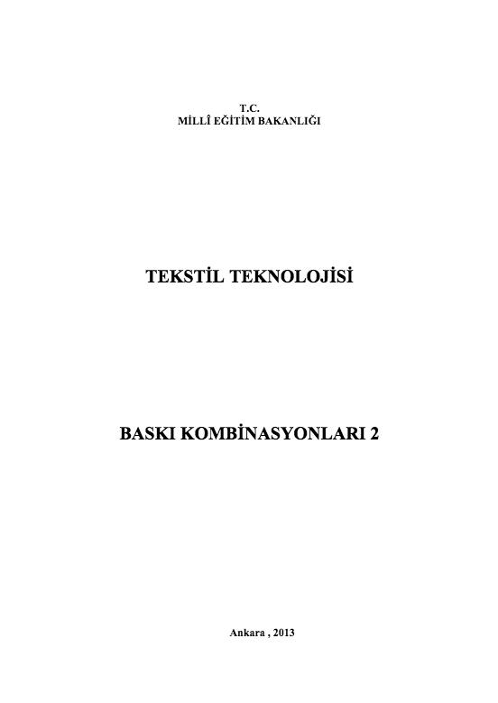 Baskı Kombinasyonları 2 ders notu pdf