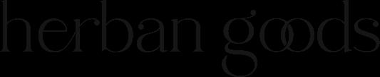 herban goods, feravana, logo