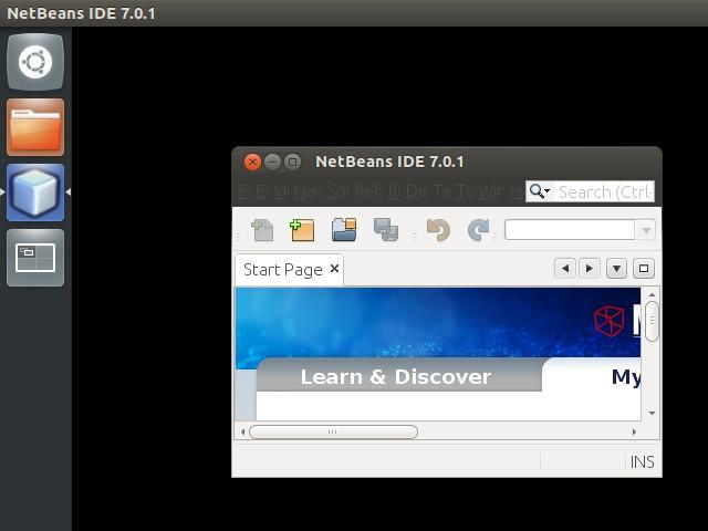 Netbeans window