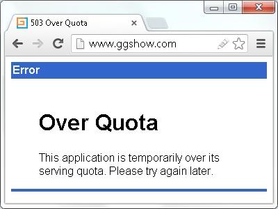 Over Quota