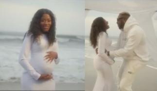 Medikal Shares Video Featuring Heavily Pregnant Fella Makafui