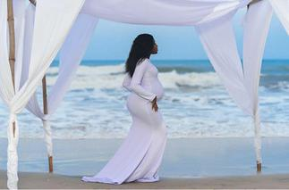 Heavenly- More Pictures Of Fella Makafui's Baby Bump Drops- Congratulations All Over