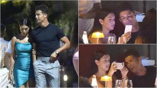 Cristiano Ronaldo dines with lover Rodriguez in romantic night out