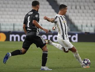 Ronaldo brace not enough as Lyon knock out Juventus