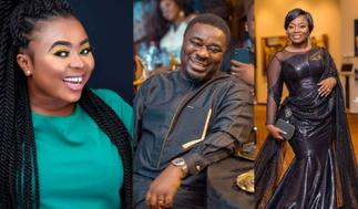 Retired Premature Musician Taking Over Ladies' Fight -Adu Safowaa Shades Stacy Amoateng's Husband