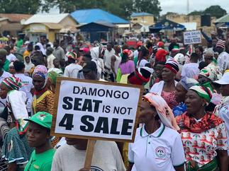 Damongo seat is not for sale