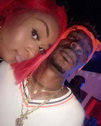 Wild Video Of Efia Odo And Shatta Wale In A Bathtub Hit The Web