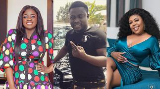 Things Go Wild As Tracey Boakye, Afia Shwarzenegger And Brother Sammy Meet For The First Time After Papa No Saga » GhBasecom™
